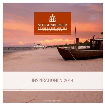 INSPIRATIONEN 2014 - Steigenberger Hotels and Resorts