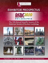 ASNC2010 Exhibitor Prospectus - American Society of Nuclear ...