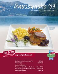 www.beo-dasmagazin.ch Jetzt abo - Das Beste der Region Berner ...