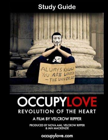 Study Guide - Occupy Love