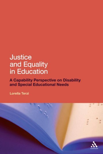 Justice and Equality in Education - Manavata Portal for Differently ...
