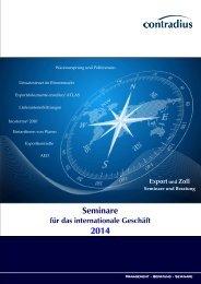 Seminare und Beratung - Contradius
