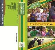 Camp Brochure (pdf) - Pleasant Hill Outdoor Center