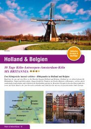Holland & Belgien - Nicko Tours