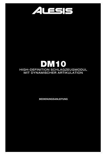 DM10 Modul Anleitung - Alesis