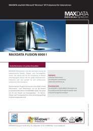 MAXDATA FUSION 6000 I