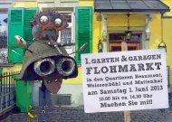 Flohmarkt karte a6 gzd4 - Villa Stucki