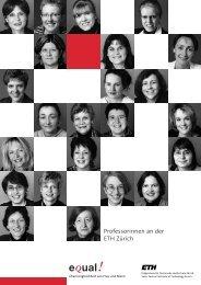 Professorinnen an der ETH Zürich - Ada.bit