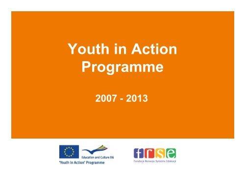 Youth in Action Programme - KSOW