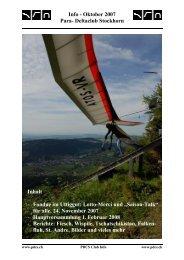 Info - Oktober 2007 Para- Deltaclub Stockhorn Inhalt - Fondue im ...