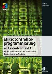 Mikrocontrollerprogrammierung in Assembler und C