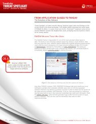 FROM APPLICATION GUISES TO FAKEAV - Trend Micro