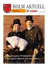 Eine gesegnete Weihnacht und einen guten Rutsch ins ... - CDU Holm