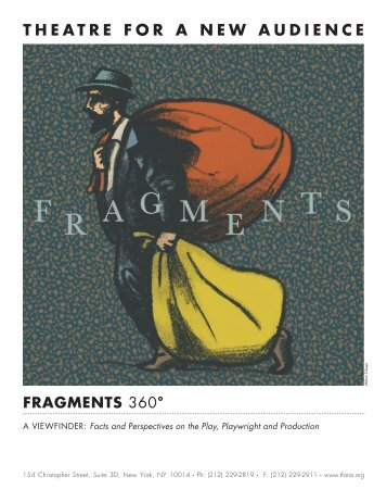 fragmeNTs - Theatre for a New Audience