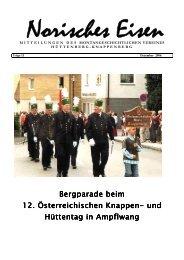 Bergparade beim Bergparade beim 12. Österreichischen Knappen ...