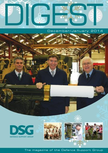 DIGEST Issue - 01 December 2013 - Defence Support Group