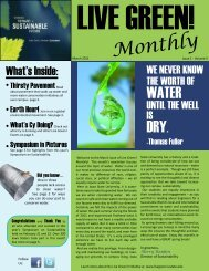 Monthly - Live Green! - Iowa State University