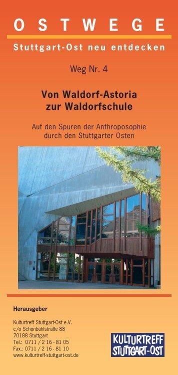 Weg Nr.4 - Kulturtreff Stuttgart-Ost
