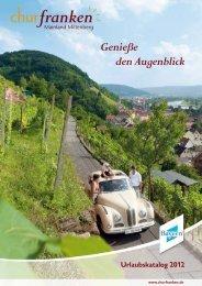 Download Churfranken-Urlaubskatalog 2012