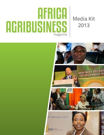 Download Media Kit PDF - Africa Agribusiness Magazine