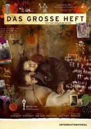 Unterrichtsmaterial DAS GROSSE HEFT - Piffl Medien | Filmverleih