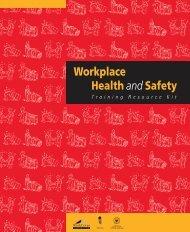 Workplace Health & Safety Training Resource Kit - SafeWork SA
