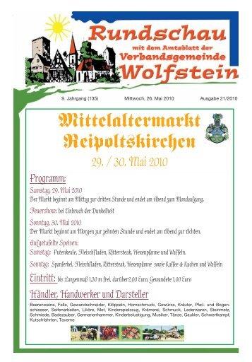 KW 21 - Verbandsgemeinde Wolfstein