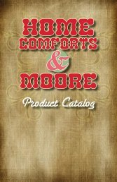 Product Catalog - Home Comforts and Moore