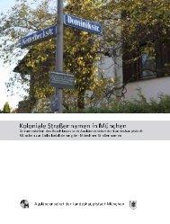 koloniale Straßennamen in München - muc - postkolonial.net
