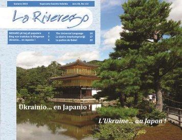 Riverego #112 - Société québécoise d'espéranto