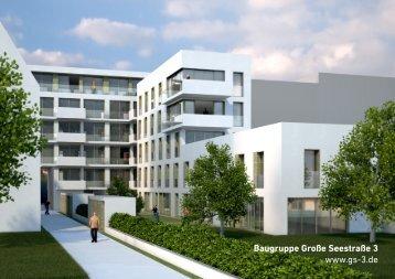 Baugruppe Große Seestraße 3 www.gs-3.de