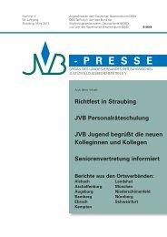 JVB Presse 1/2013 - jvb-kaisheim.de