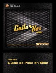 Guide de Prise en Main GuitarBox Pro - M-AUDIO