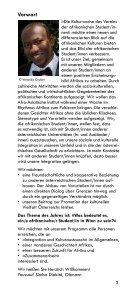 Afrikanische Kulturwoche - VAS Öesterreich - Seite 3