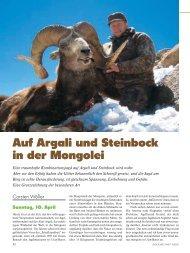 Auf Argali und Steinbock in der Mongolei - Jagen Weltweit