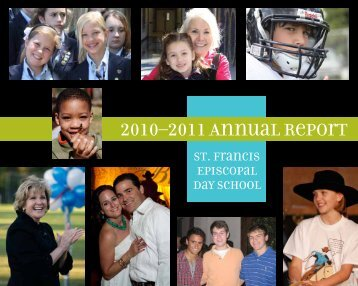 2010–2011 Annual Report - St. Francis Episcopal Day School