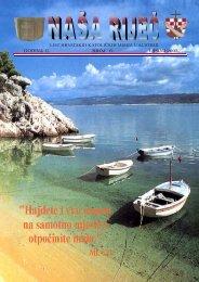 strana 1 naslovna - Hrvatska katolička misija, Beč