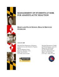 Management of Students at Risk for Anaphylactic Reaction