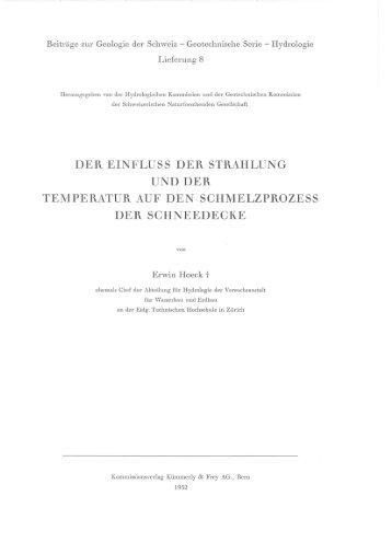 8 E. Hoeck: Der Einfluss der Strahlung und der Temperatur auf den ...