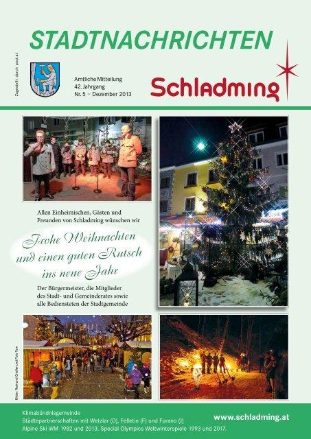 Ausgabe Dezember 2013 - Stadtgemeinde Schladming