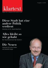 klartext03/2006 - PDS Sachsen-Anhalt