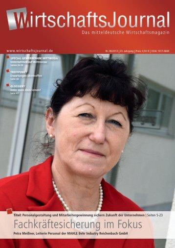 Ausgabe 06/2013 - Wirtschaftsjournal