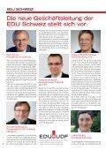 Zu Gottes Ehre - EDU Schweiz - Page 2