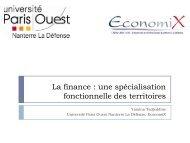 La finance à Paris, une concentration ancestrale
