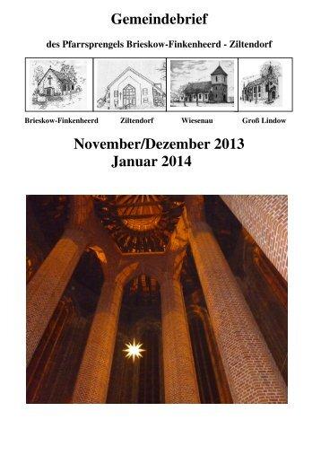 14. Dezember 2013 - Ziltendorf