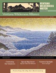 Download Fall 2013 Newsletter - Ventana Wilderness Alliance