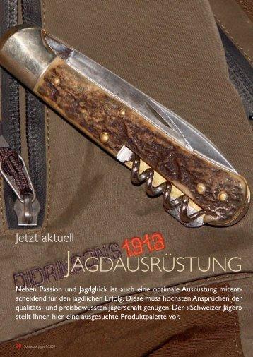 JAGDAUSRÜSTUNG - dfshop.com