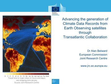 Advancing the generation of Climate Data Records from Earth ...