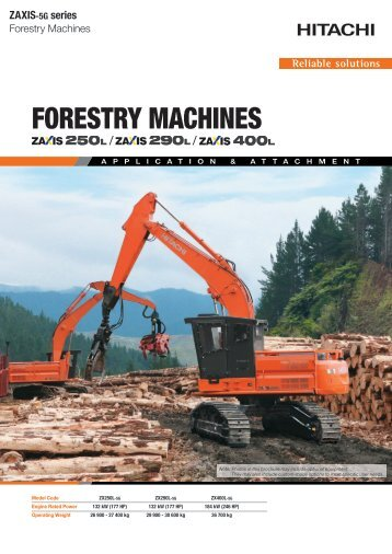 FORESTRY MACHINES - CablePrice