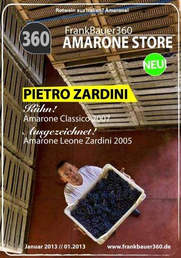 Amarone Preisliste Magazin 01/2013